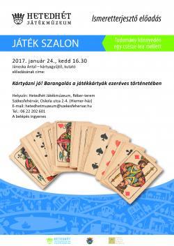 Játék Szalon plakát