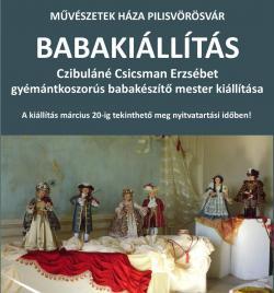 Babakiállítás Pilisvörösváron